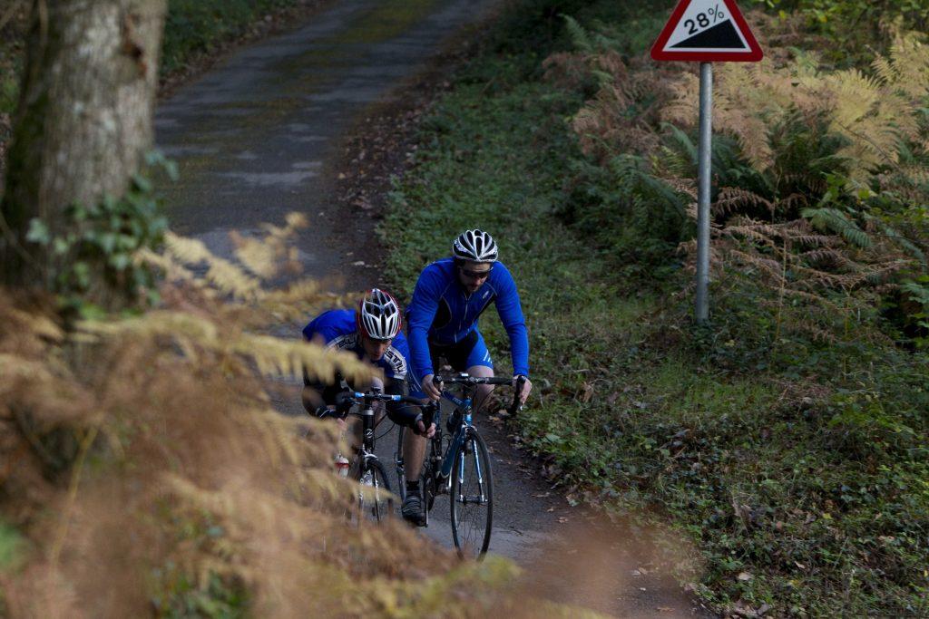 Self guided Cornish Cycle Tour at Hustyn Hill, near Wadebridge, Cornwall.