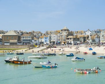 town beach in st ives adam gibbard