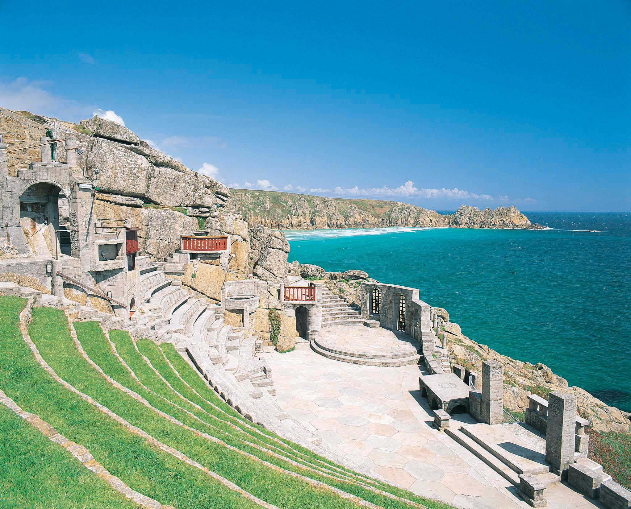 Minack Theatre in west Cornwall