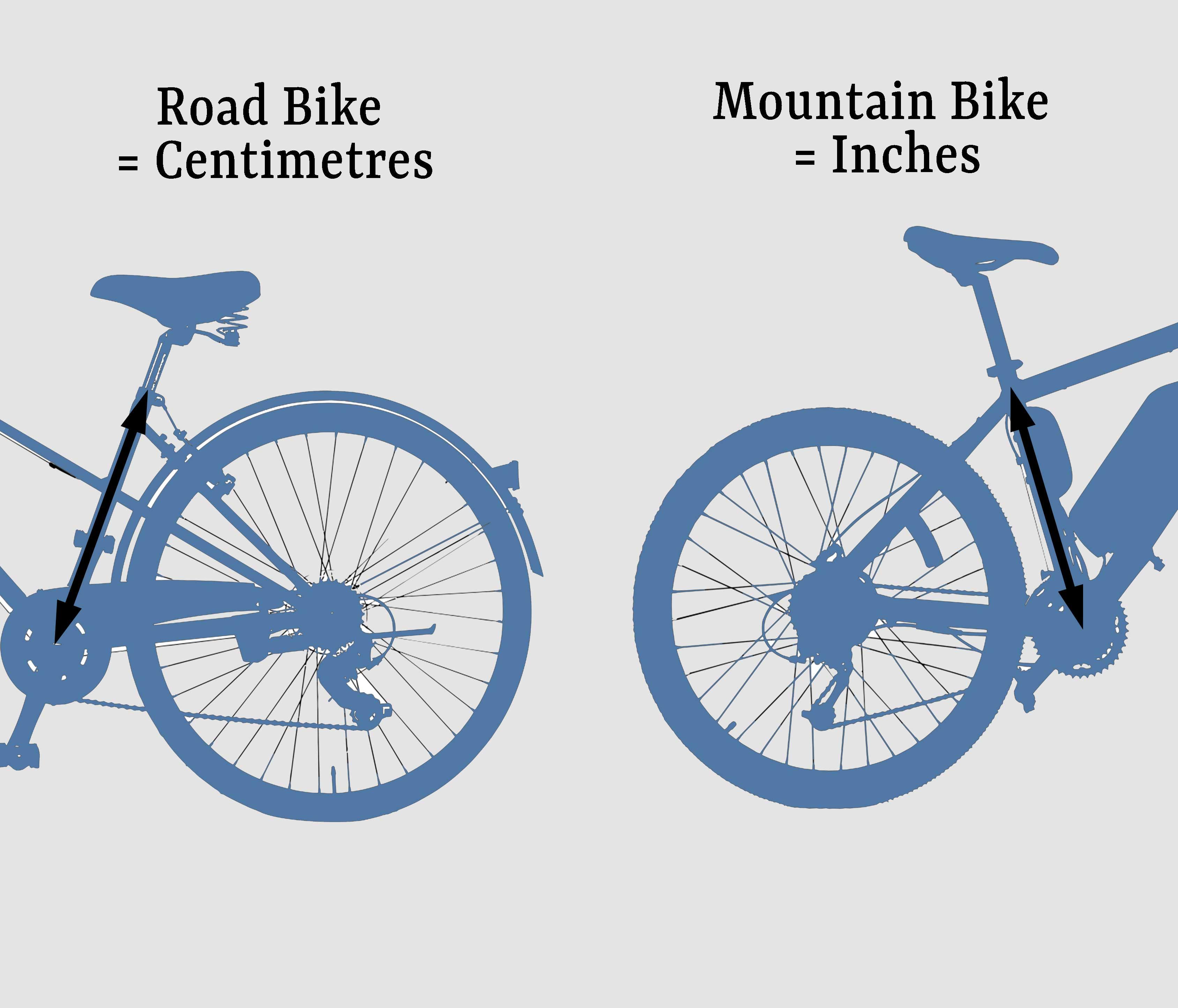 bike frame sizes